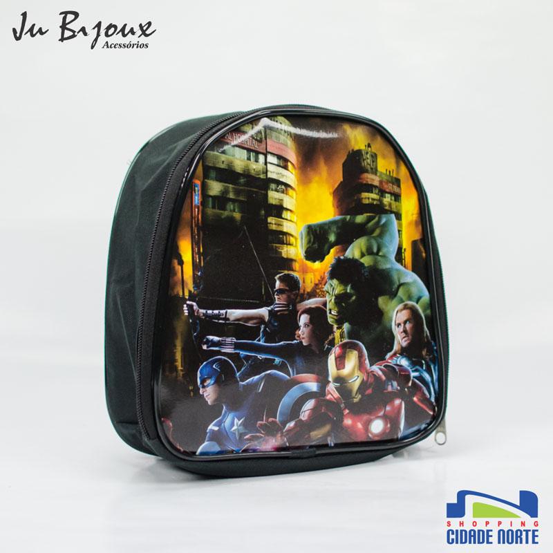 Mochila Masculina da Ju Bijoux: R$ 12,00