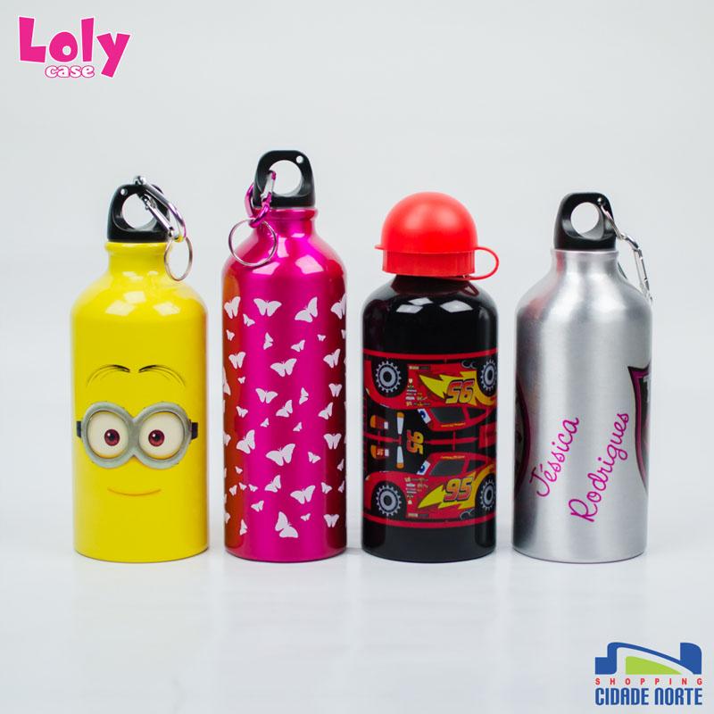 Squeeze divertidas da Loly Case: R$ 35,00 cada